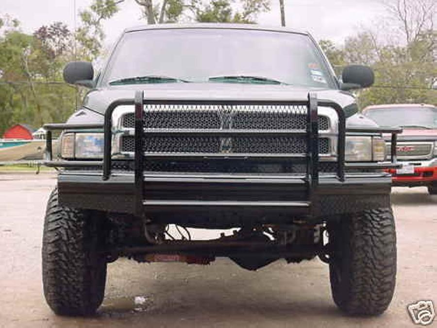 dodge 94 02 dodge ram 2500 3500 94 01 dodge ram 1500 front bumpers with grille guard gage front bumper hendry s the biggest single location ranch hand dealer hendry s