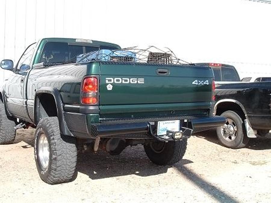 Home Chevrolet 00 06 Chevy Tahoe Suburban 1500 99 02 Silverado Rear Bumpers Ranch Hand Legend Series Rear Bumper