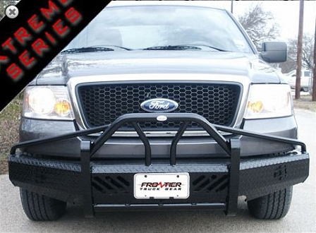 05 F150 Bumper >> Home Ford 04 05 Ford F150 Bullnose Or Prerunner Type Front Bumpers Frontier Gear Xtreme Bullnose Front Bumper